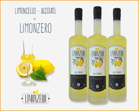 Deliciousdrinksshop.co.uk - Limonzero - Alternative for Limoncello